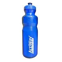 Спортивная бутылка ActiWay синяя 800 ml