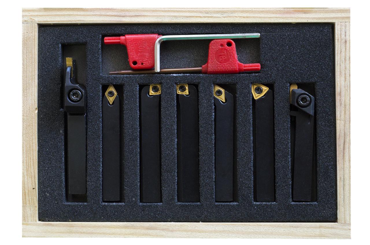 Набір пластин для різців 8х8 мм 7 шт.(ВD-7) JET