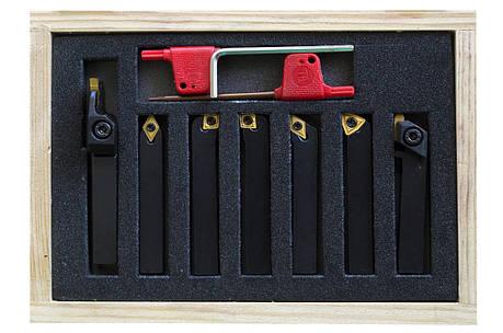 Набір пластин для різців 8х8 мм 7 шт.(ВD-7) JET, фото 2