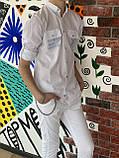 Сорочка з довгим рукавом для хлопчика 140-176см, фото 3