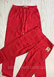 Красные штаны для мальчика на 110-128см, фото 2