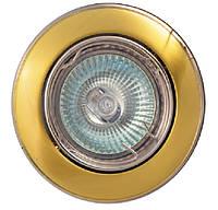 Точечный светильник MR16 104A  SG/N  сат.золото/никель
