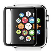 Захисне скло 5D Tempered Glass для Apple Watch 40mm, Black