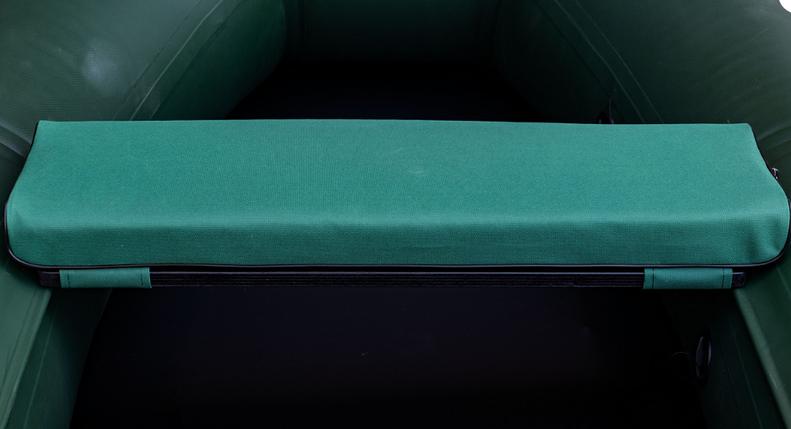 Сиденье мягкое 710*200*50 мм с кедром №2 Aqua-Storm хаки, фото 2