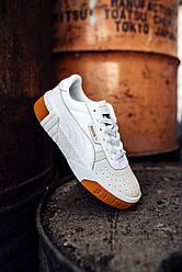 Женские кроссовки Puma Cali White (белые)