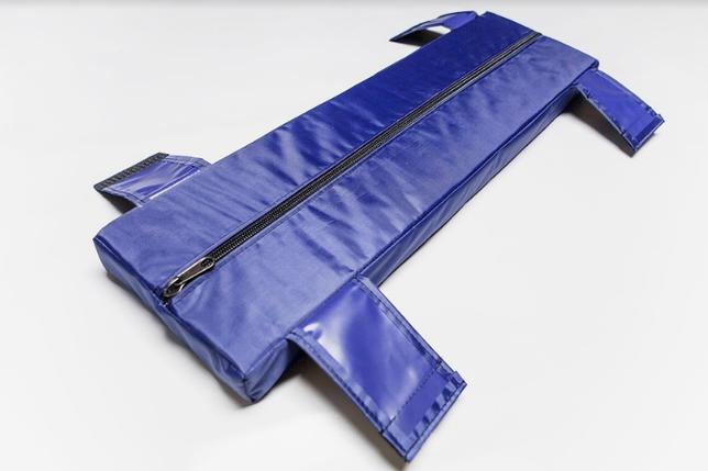 Мягкое сидение 940*250*50 мм Aqua-Storm синий, фото 2