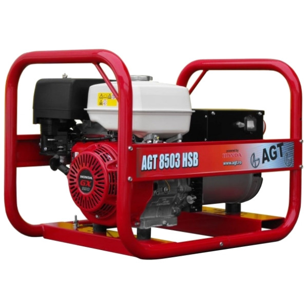 Трифазний бензиновий генератор AGT 8503 HSB PL (8 кВт)