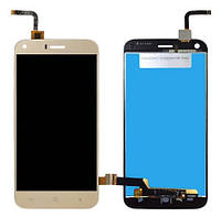 Дисплей Bravis A506 Crystal,S-TELL M621,Umi London (Rev1) with touchscreen gold