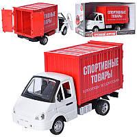 Детская Игрушка для мальчиков Инерционная Машинка Автопарк Спортивные товары, звук. и свет. эффекты арт. 9077С