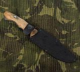 """Охотничий нож Кизляр """"Восток"""" Оригинал с паспортом, чехол кожа, нескладные ножи, ножи для охоты, фото 3"""
