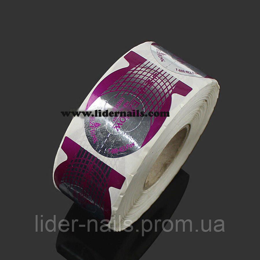 Формы для наращивания ногтей EzFlow 500 штук - Материалы для наращивания и дизайна ногтей,все для салонов красоты,косметика,парфюмерия в Харькове