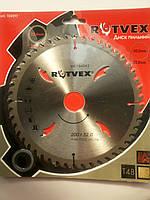 Диск пильный по дереву  rutvex  200 / 32 ,30,25,4 НА 48 зубов