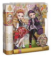 Куклы Эвер Афтер Хай Эппл и Рейвен Школьный дух Ever After High School Spirit Apple White and Raven Queen