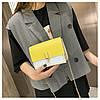 Желтая с бежевым сумка, фото 3