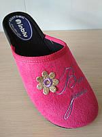 Домашние тапочки женские текстиль INBLU,размеры 36,37