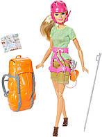 Шарнирная Кукла Барби Неко Безграничные Движения Скалолазка с рюкзаком - Made to Move Rock Climber Barbie Doll