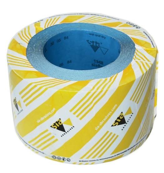 Наждачная бумага для авто шлифовки в рулоне SIAFLEX 115мм x 50м
