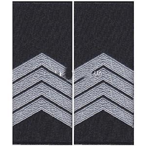Погоны полиции старший сержант (муфта)