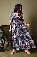 Платье женское свободное размеры 42 44 46 48 50 52