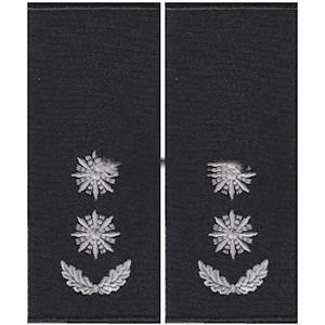 Погоны полиции подполковник (муфта)