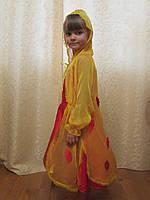 Платье Осени с накидкой на прокат, фото 1