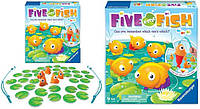 Игра Рыбалка настольная Ravensburger Five Little Fish