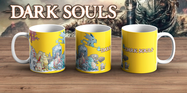Чашка Темные души / Dark Souls