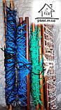 Гамак веревочный одноместный на лакированной планке, фото 5