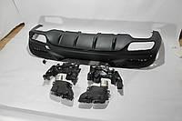 Диффузор Mercedes GLE Coupe Black