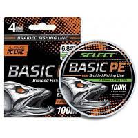 Шнур Select Basic PE 100m (разноцв.) 0.18mm 22LB/9.9kg