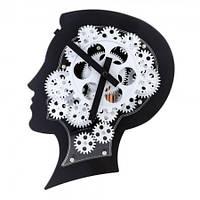 Часы Gear Clock Голова