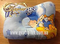 """Ортопедическая подушка для новорожденного """"Сине-голубая"""""""