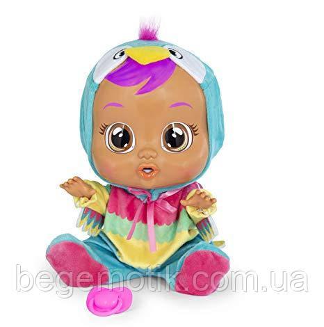 Интерактивная Кукла плакса IMC Toys Cry Babies Loretta Baby Doll Пупс Попугай Лоретта