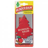 Ароматизатор в авто WUNDER-BAUM Little Trees Яблуко з корицею