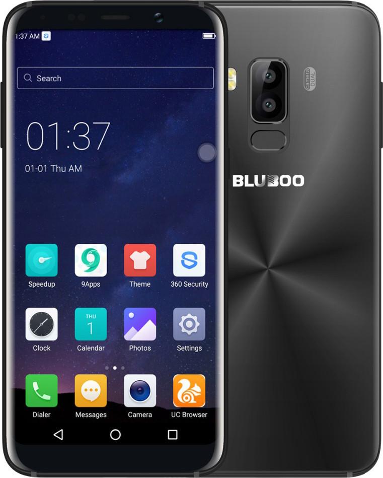 "Смартфон Bluboo S8 3/32Gb Black, 13/5Мп, екран 5.7"" IPS, 2sim, 4G, 8 ядер, GPS, 3450mAh"