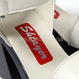 Кожаные босоножки Shtayer, фото 6