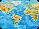Скретч карта Discovery Map World на английском языке, фото 3
