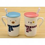 Чашки Happy everyday с шарфиками 2 шт, фото 2