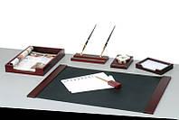 Набор настольный Bestar деревянный 6 предметов красное дерево (6148XDU)