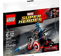 LEGO Super Heroes 30447 Captain America's Motorcycle Мотоцикл Капитана Америки