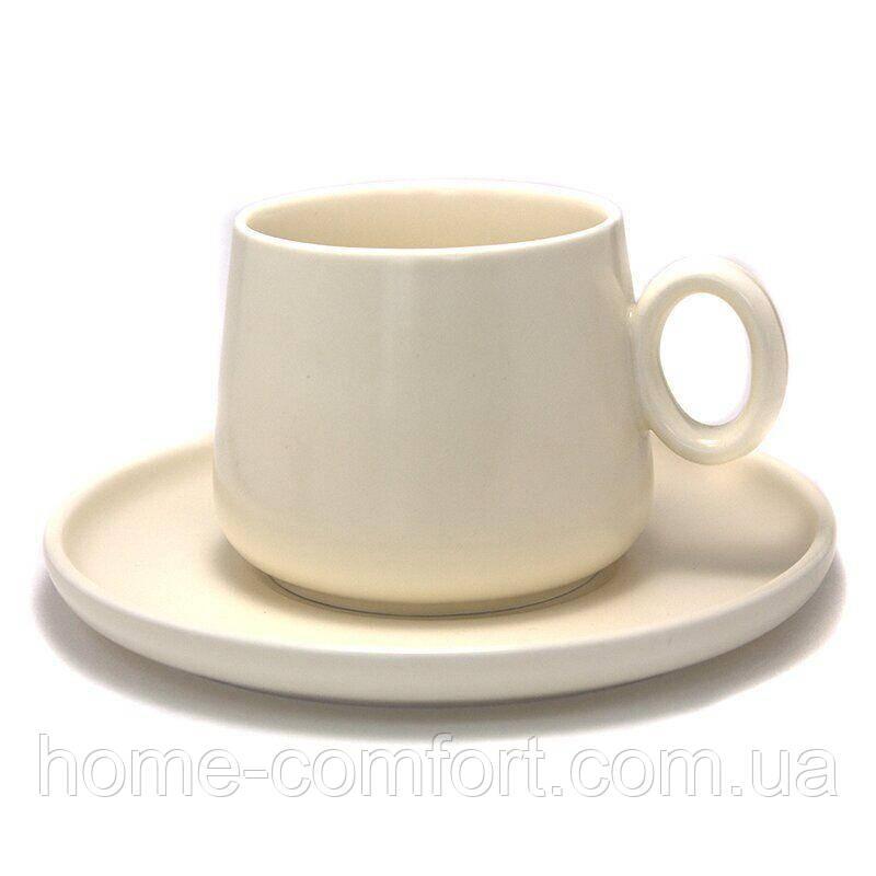 Купить Чашка с блюдцем для чая EZ-SR90002K2, Showroom