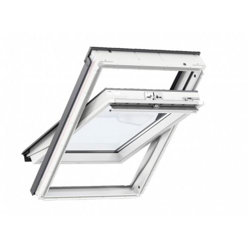 Velux GLU 0061 B Мансардне вікно двокамерне вологостійке ручка зверху або знизу Двухкамерные окна Велюкс ПВХ