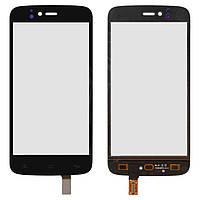 Сенсорный экран (touchscreen) для FLY IQ4411 Quad Energie 2, черный, оригинал