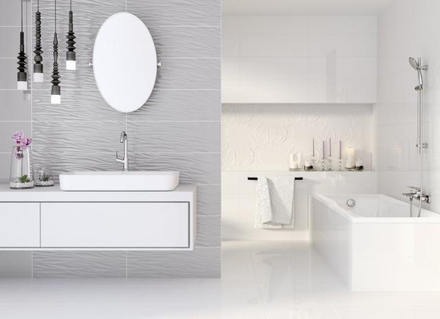 Плитка для ванної та туалету