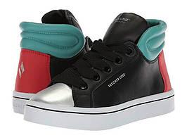 Skechers Кожаные высокие кеды Hi Lites Block Poppers High Top Sneaker