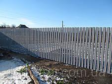 Забор металлический штакетник Харьков, фото 3