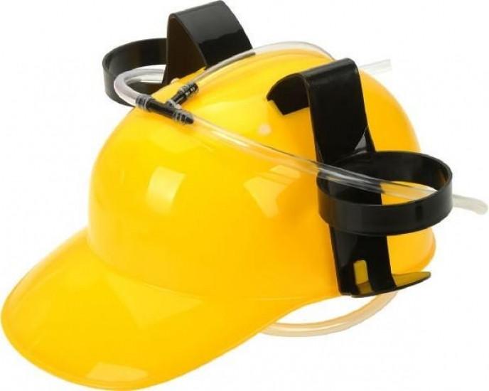 Шлем для пива желтый