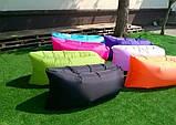 Надувное кресло-лежак ламзак черное, фото 3
