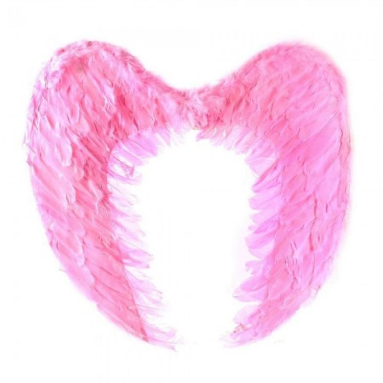 Крылья Ангела Большие 40х60 см (розовые)