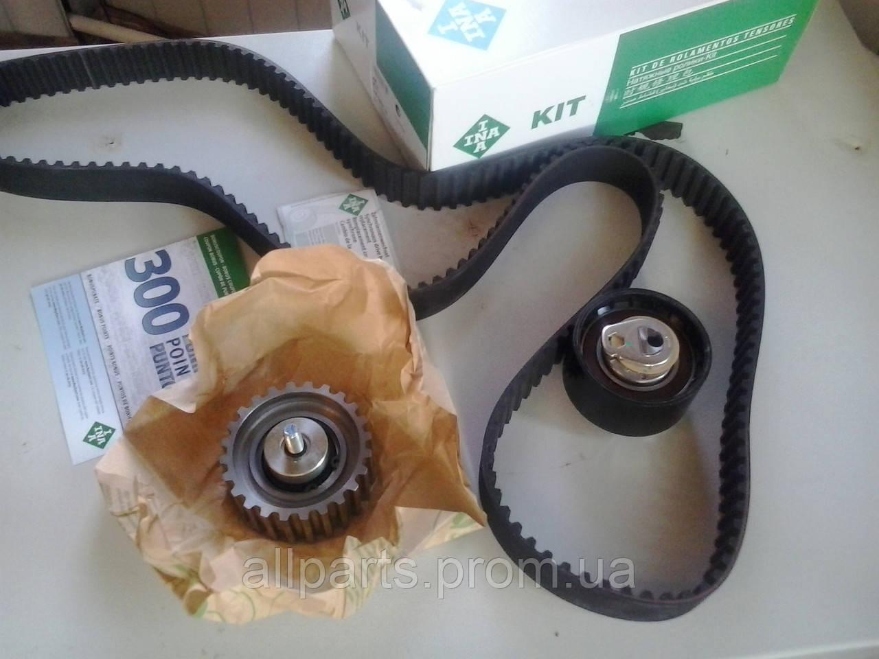 Комплект ременя ГРМ Iveco Daily / Fiat Ducato 2.3JTD (02- ) производителя INA (Германия)